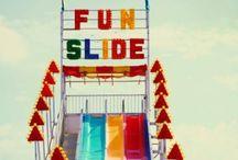 let's go for a ride ☁ / amusement parks