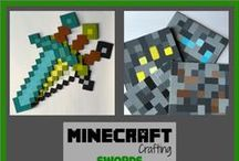 Minecraft Party! / Ideas, pictures and tutorial for J's Minecraft party.  food, decorations, party favors, and activities.