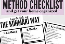 Organization / DIY organization ideas for your home and life. How to organize your home, DIY projects and ideas for cleaning and organizing.