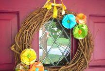 Autumn Time / Fall Decor.  Autumn Inspiration.  Kids crafts & DIY