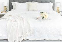 Bedroom Ideas / Ideas for design and decor for your master bedroom, guest bedroom, and any other bedrooms in your home. DIY decor for the home, inspiration for home decor and styling.