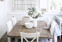 Kitchen and Dining Room Ideas / Ideas for kitchen decor, design, and easy DIY for the home. Beautiful cabinets, appliances, and countertops, and design ideas for your dining room and breakfast nooks. Inspiration for home decor and projects.