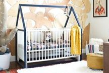 Nurseries/Kid's Room Ideas / Ideas for design and DIY projects for nurseries, kid's room (boy's rooms and girl's rooms!), and tons of gorgeous inspiration for children's spaces. Awesome inspirations for the home and easy DIY projects and crafts to decorate in your kids rooms.