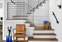 Staircase Ideas / Ideas for remodeling your staircases, easy staircase renovations, and DIY tips and tricks for giving your staircase a makeover. Awesome inspiration for your home decor, projects, and easy DIY ideas for stairs in your home.
