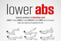 Fat-Burning exercises / For toning your abs, legs, and body