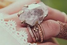 little treasures / Tiny pieces of jewelry/art!