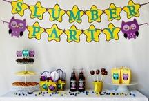 Slumber Partys / by Elisa Wilson