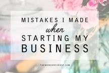Business Tips and Tricks / Tips about running an online buisness
