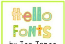 Fonts & Borders / by Colleen Hughes