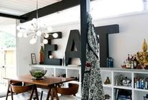 home   interior design   deco / by Carole Chevallet