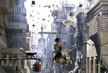 Science Fiction Inspiration / Images and Ideas that will hopefully inspire writers out there.