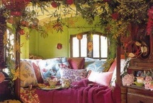 Dreamy living / Cozy, rustic, comfy, colorful, old, innovative, natural - that's how I'd love to live!