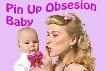 Pin Up Obsesion Baby / Camisetas, ranitas y complementos para niños y bebés con las ilustraciones de Pin Up Obsesion by Carmen Jane. 30 euros http://www.pinupobsesion.es