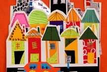 project ideas for school - collage / by Kate Airhart