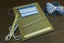 project ideas for school - weaving / by Kate Airhart