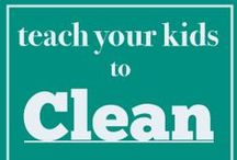 Kids / simple and fun ways to teach kids of all ages how to do chores.