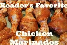 Chicken Marinades / Delicious and simple chicken marinades.