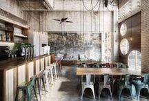 places   café, restaurant, shop / by Carole Chevallet