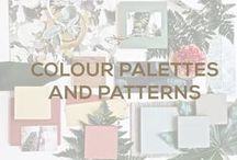 Colour Palettes and Patterns / Colour Palettes and Pattern Trends by Jetclass. http://www.jetclass.pt/en/catalogue/noble-creations/line/