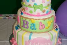 Baby shower cakes, cupcakes & cookies