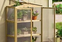 Garden | Greenhouses / Greenhouses can be wonderful, beautiful and practical.