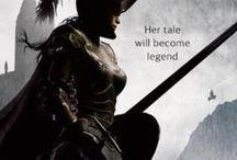 Women Warriors / Women in Armor, most from fiction.