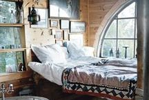 New Bohemian / Mixing clean, modern architectural lines with texture, comfort, color, and everything bohemian.  / by Meg Roche