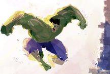 Life | Super Heroes / Iconic. Art. Fantasy.