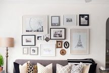 Photo Collage Wall Ideas / Decorating the studio or home with photography collages :)