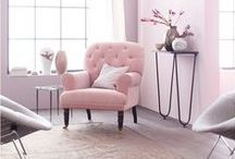Pink Palace / Chic ways to add accents of pink to your home