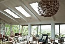 Vaulted Ceilings / A selection of vaulted ceiling design ideas for your home to make an impact