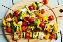 Vegetarian Barbecue / Vegetarian and healthy option Barbecue recipe ideas