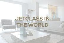Jetclass in the world / Jetclass is everywhere. We travel to visit our clients, to be near the ones we love and also the ones we admire. Showrooms and partnerships are always welcomed.