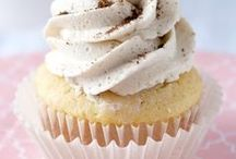 Food-Cupcakes / Cupcakes, mini cupcakes, filled cupcakes, holiday cupcakes, party cupcakes...if you can bake it in a cute little cup and frost it with something delicious, it's going on this board!