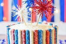 Summer Food / Enjoy the flavors of summer with grilling recipes for the family BBQ and frozen desserts like no bake pies and popsicles. Try new 4th of July recipes using red, white and blue food or enjoy a new s'mores recipe.