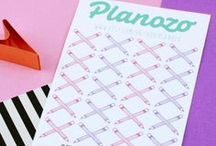 Planozo / Planning accessories to help you plan a happy life!