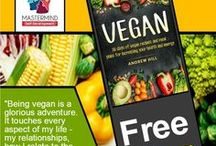 Free Books / FREE until Jan 20th!  The #1 Amazon best selling book VEGAN will be available for download at no cost.  This is a challenge book that gives non vegans a chance to see the health and energy benefits of making a few changes in their lifestyle.  I perfect time of the year to start to make some changes. Use this link http://viewbook.at/veganbook to download your copy today.