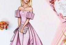 Иллюстрации Fashion