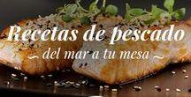 Recetas de pescado / Aquí encontrarás las recetas de pescado más deliciosas para que disfrutes de lo mejor del mar en tu mesa. Las recetas de pescado son además de saludables una opción perfecta para servir cuando tienes invitados en casa. Ya sea pescado azul o blanco, ¡aquí encontrarás las mejores recetas para cocinarlo y que te quedo delicioso!