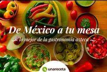 Recetas mexicanas / Las recetas mexicanas más tradicionales y deliciosas para que puedas elaborar los mejores platos de la gastronomía azteca. Porque México te ofrece una gastronomía llena de sabor y color no te pierdas las mejores recetas mexicanas de este tablero y disfrútalas siempre que quieras.