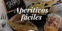Aperitivos fáciles / ¿Eres fan incondicional de las tapas españolas y los mejores aperitivos? ¡Entonces este tablero está hecho para ti! No te pierdas nuestras recetas de tapas frías, entrantes originales, aperitivos fáciles y muchas más ¡Síguenos y sorprende a tus invitados!