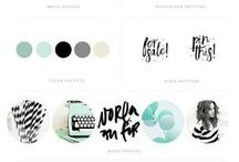 BUILD YOUR BRAND || inspiration / take a peek at how to build a cohesive identity