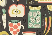 Delicious Prints & Illustration / Art you just want to eat.