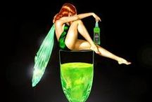 AbSiNthE / The green stuff dreams are made of.... / by Melissa Torres