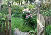 outdoor living / by Joan Schultz