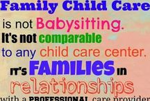 Child Care Ideas / by Melissa Stortz
