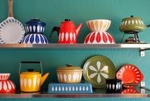retro kitchy kitchen / by Erin O'Brien