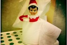 Elf on a shelf / Crosby's countdown to Christmas.  / by Tami White