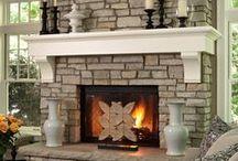 Fireplaces / by Joan Schultz
