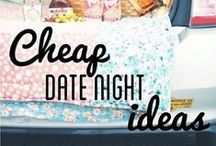 Date Night On A Dime / Looking for frugal dates?  Check out this great selection! Lots of date-night-in ideas, free and cheap date ideas and creative tips! / by afrugalchick